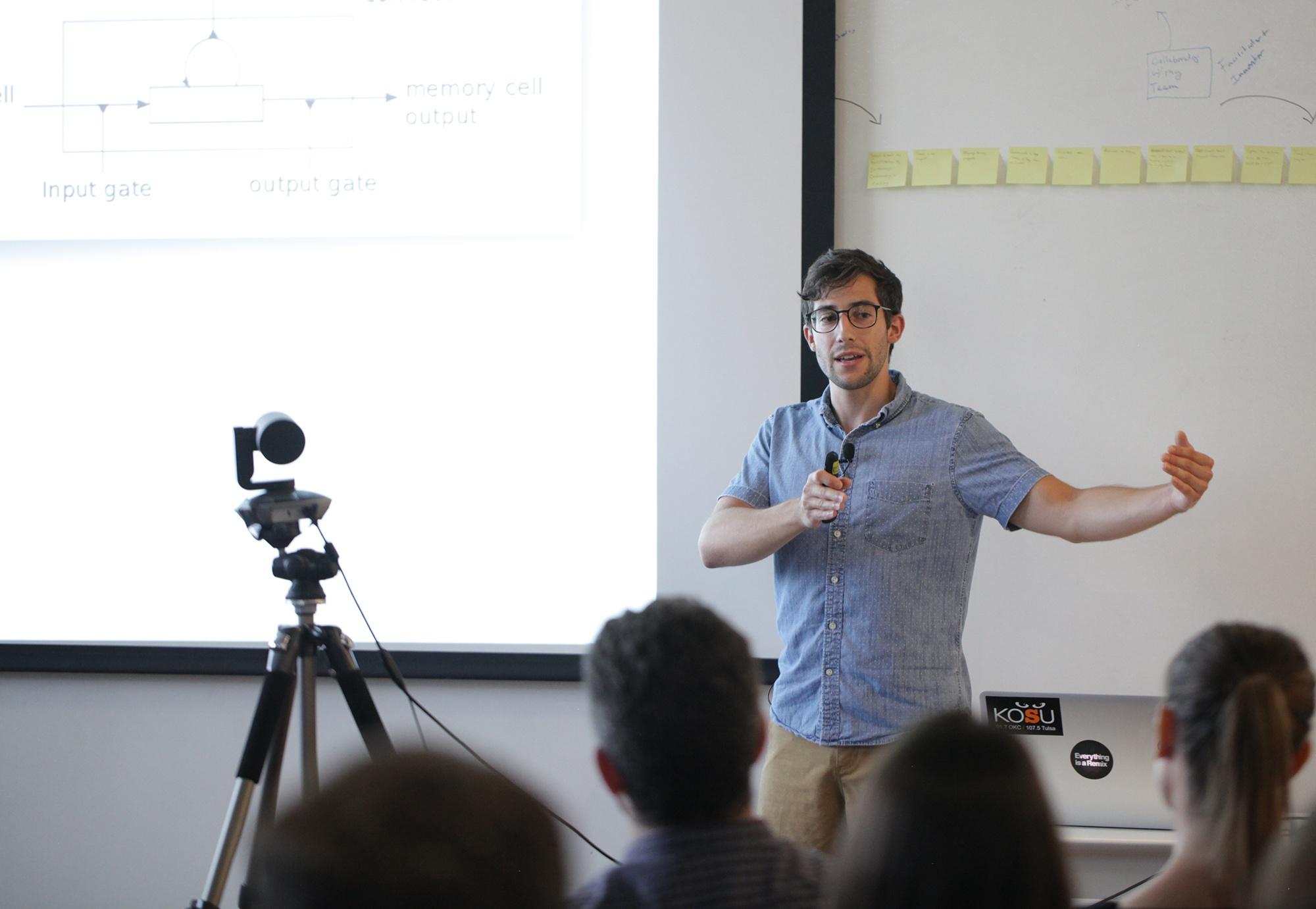 Data scientist Austin Schwinn talks about machine learning for predicting dengue fever outbreaks.