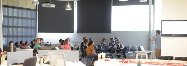 Data+Creativity Meetup draws people in the Oklahoma City community that are interested in using data for good.