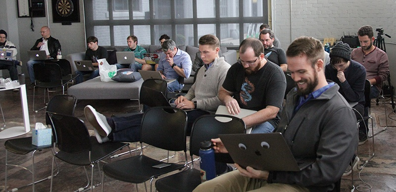 Exaptive hosts a hackathon for developers and subject matter experts